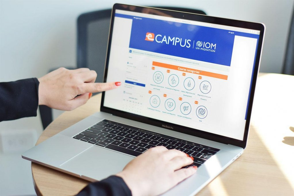 IOM has launched the online platform E-Campus | Photo: IOM/Marcela Cerdas