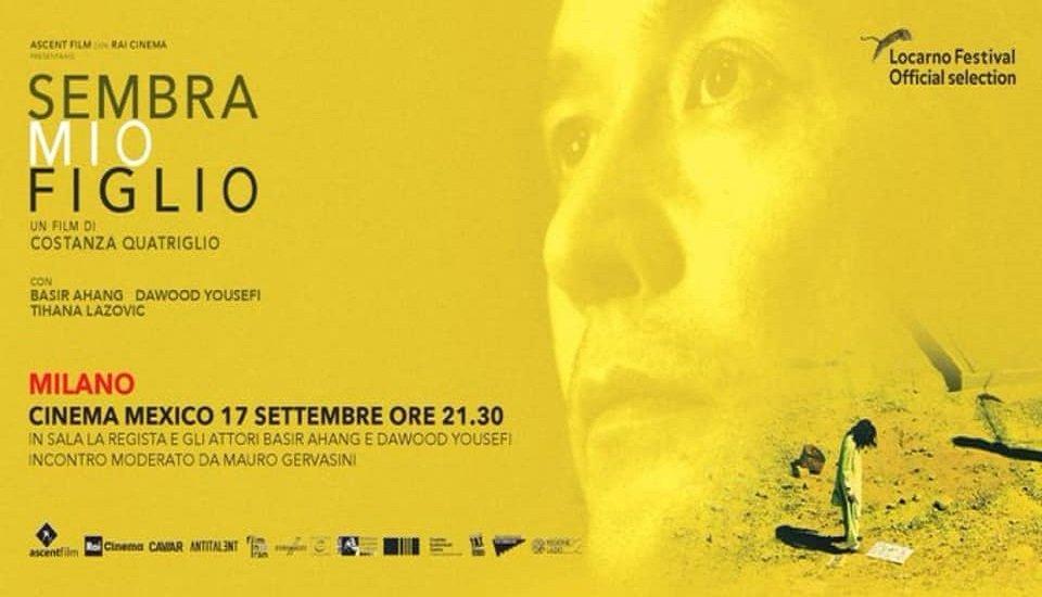 """پوستر فیلم """" شبیه پسرم"""" با بازیگری بصیر آهنگ، مهاجر افغان در ایتالیا. عکس از صفحه فیسبوک بصیر آهنگ"""