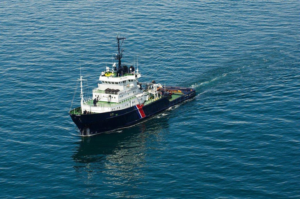 Les tentatives de traversées de La Manche ont explosé depuis le début de l'année 2019. Crédit : Compte Twitter Préfecture maritime de la Manche et de la mer du Nord