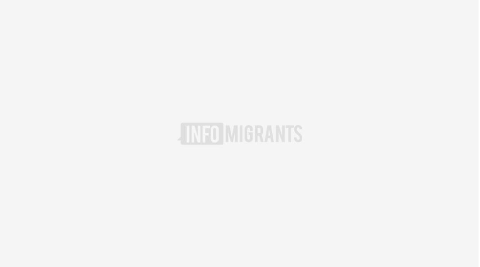له مراکش څخه کډوال قناري ټاپو ته له رسیدو وروسته، له اطلس اقیانوس څخه د تیریدو پر مهال. ۲۰ اکتوبر. انځور: picture alliance/AP Photo