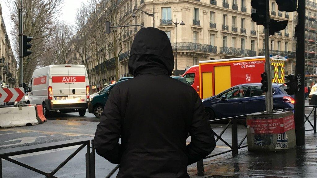 Mohamed est arrivé à Paris depuis la Suède le 11 décembre 2018 pour éviter d'être déporter en Afghanistan où il encourt la peine de mort. Crédit : Louise Nordstrom/ InfoMigrants