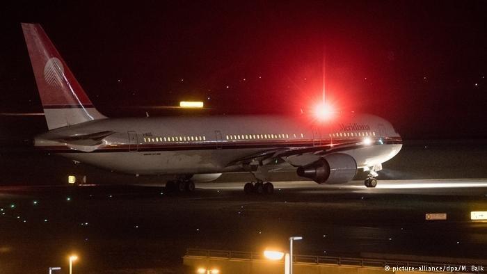 A Munich, départ d'un avion avec à son bord des migrants expulsés.  | Photo : Picture Alliance / DPA. M. Balk