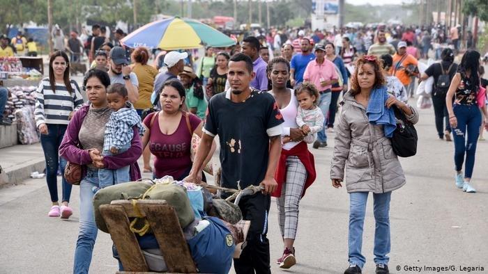 Getty Images/G. Legaria |4.8 مليون من اللاجئين الفنزويليين فروا من البلاد.