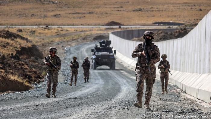نظارت نیرو های ترکی در مرز بین ایران و ترکیه شدت گرفته است.