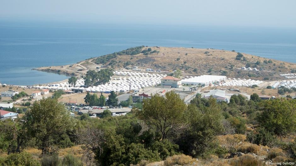 Many people stuck at the Kara Tepe camp on Lesbos report that they have mental health problems | Photo: Henning Goll/DW
