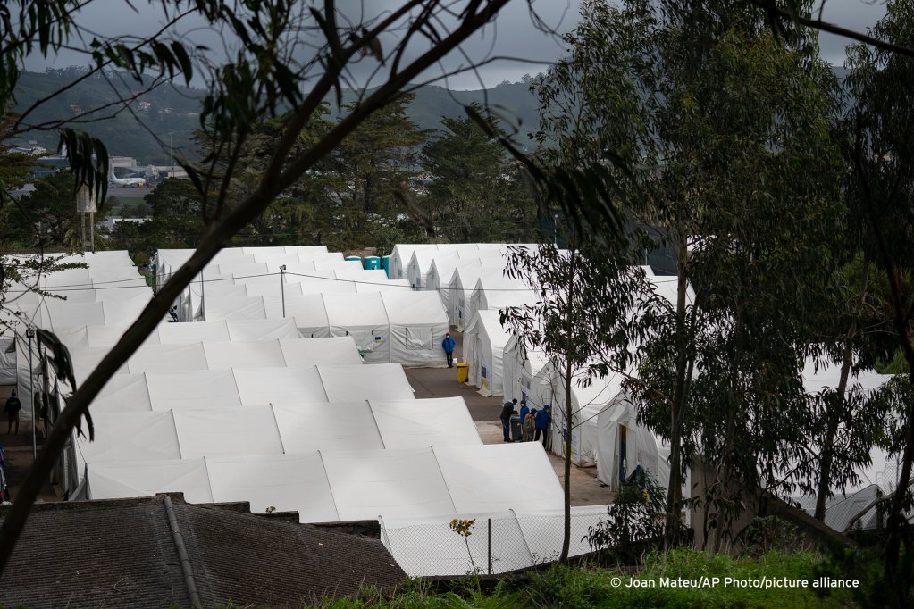 Las Raices camp in San Cristobal de la Laguna, in the Canary Island of Tenerife, Spain, Thursday, March 18, 2021 | Photo: Picture alliance