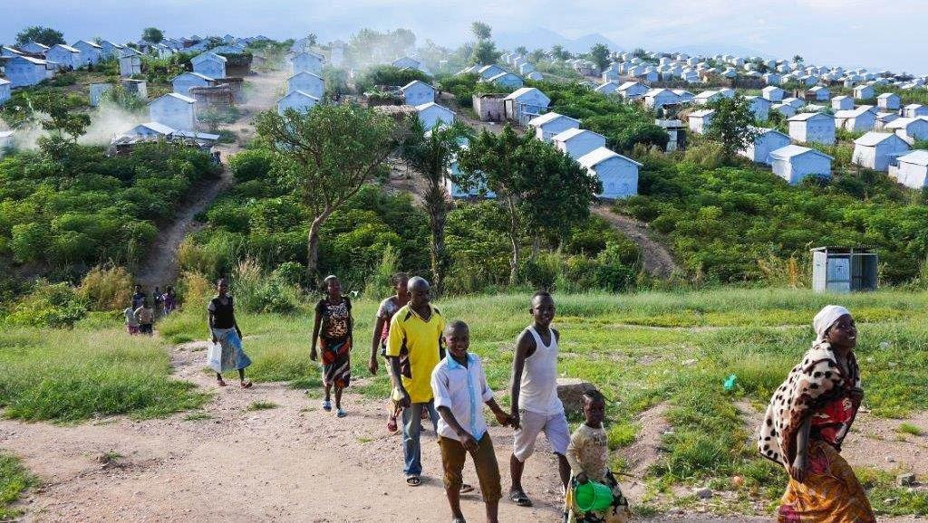 Le camp de Lusenda accueille plus de 26 000 réfugiés. Crédit : Sébastien Bonijol