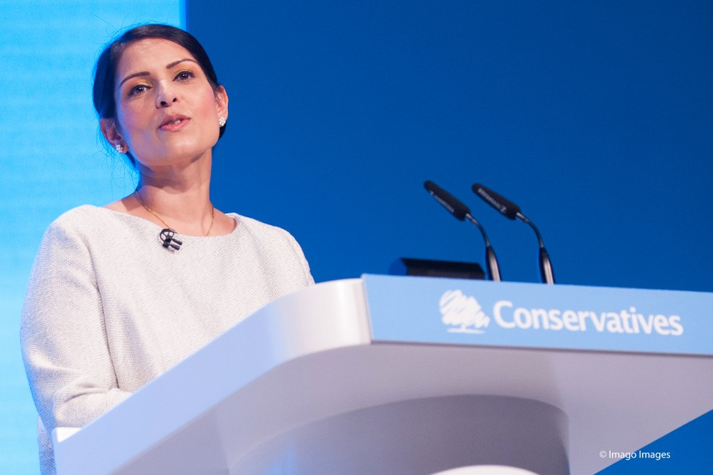 The Conservative Home Secretary Priti Patel is promising to bring in a points-based immigration system but offers fast-track visas for migrant health workers wanting to work in the UK if her party wins the elections in December 2019 | Photo: Imago