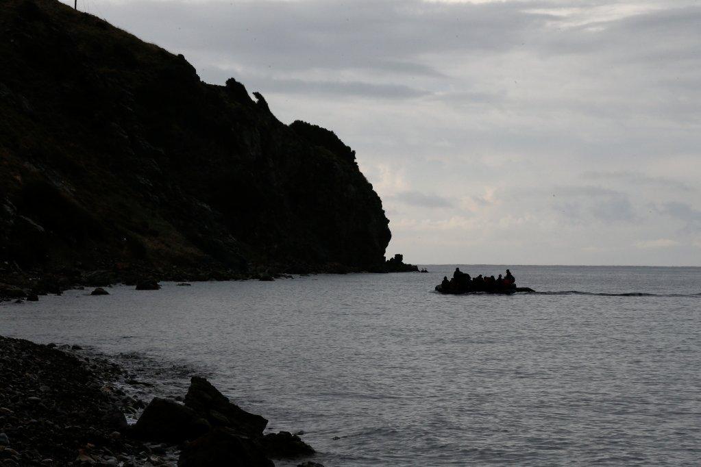 اژې سمندر کې د کډوالو یوه کښتۍ. کرېډېت: رویترز