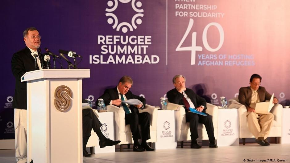 """محمد سرور دانش، معاون دوم رئیس جمهور افغانستان در جریان کنفرانس بین المللی """"چهل سال میزبانی مهاجرین و آینده بهتر در پاکستان"""""""