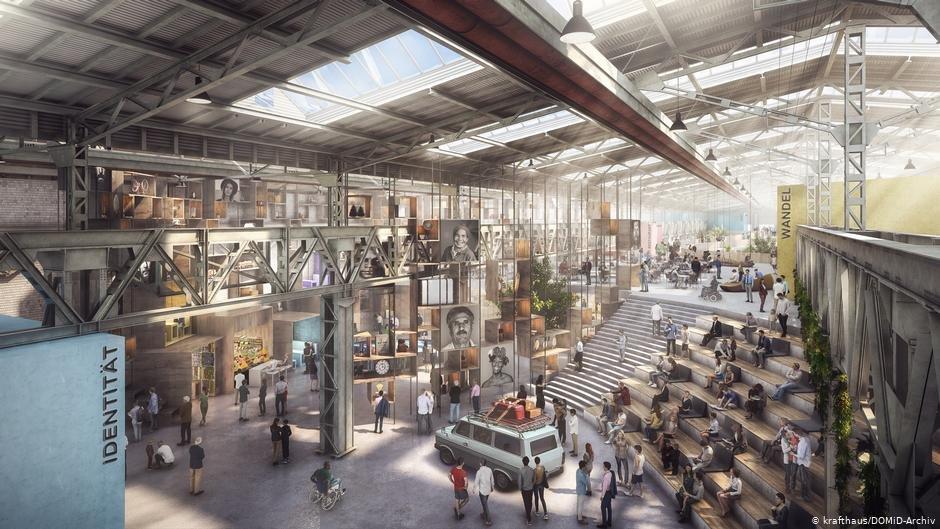 موزیم مهاجرت در شهر کلن ممکن است در آینده به این شکل ساخته شود/کردیت: krafthaus /DOMid-Archiv