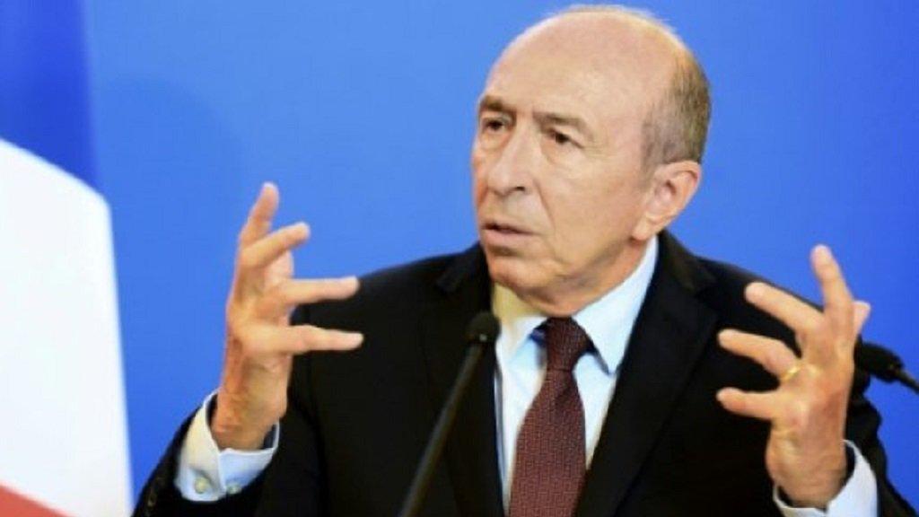أ ف ب |وزير الداخلية الفرنسي جيرار كولومب 17 تشرين الثاني/نوفمبر 2017.