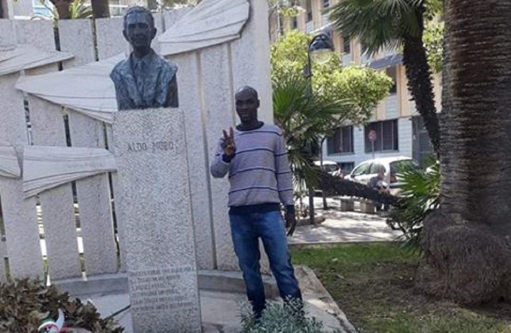صديق حسن، مهاجر تشادي في إيطاليا