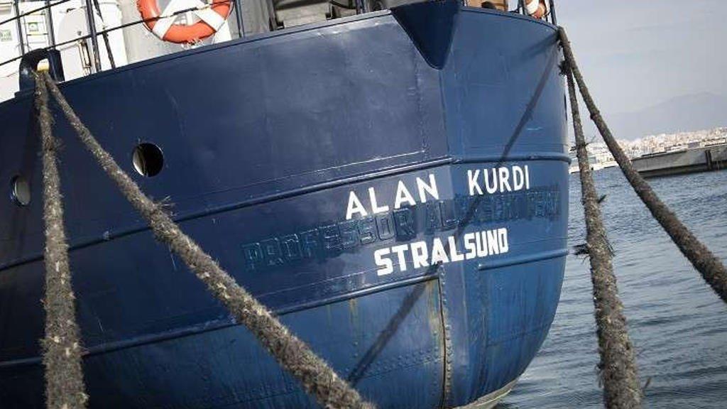 سفينة إنقاذ تحمل إسم الطفل آلان كردي