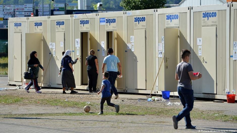 ده ها مهاجر در یک اردوگاه، در آلمان قرنطینه شدند