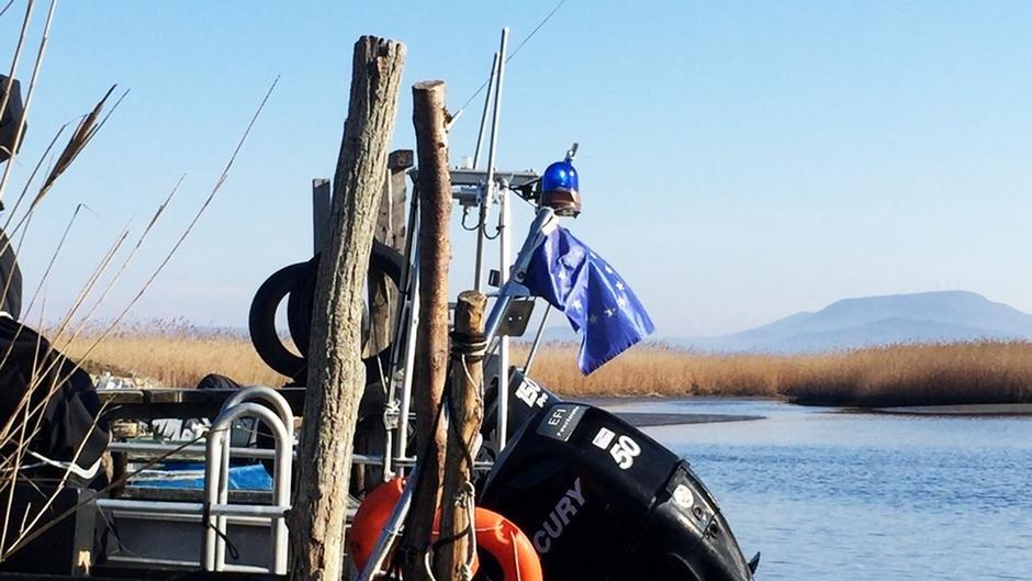 رودخانه مرزی ماریتسا (ایوروس) که بین یونان و ترکیه قرار دارد./عکس: دویچه وله