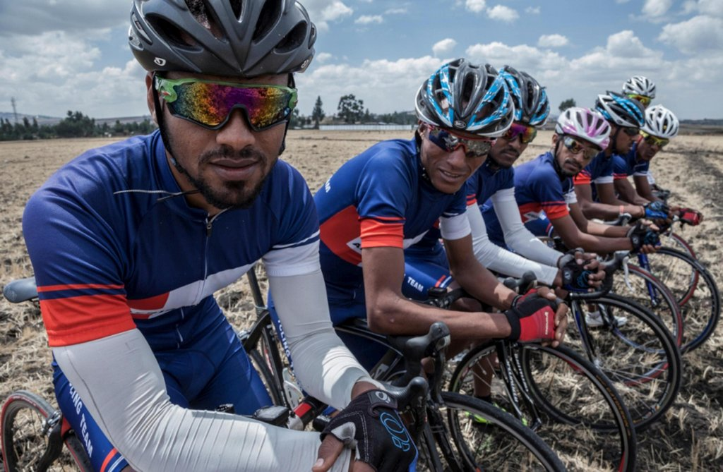 ansa فريق الدراجين الإريتريين