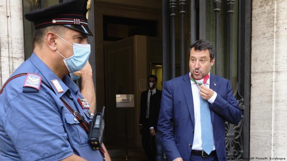 Former Italian interior minister Matteo Salvini | Photo: Picture-alliance/AP Photo/M.Scrobogna