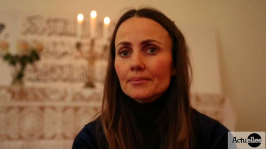 Sherin Khankan, imam de la mosquée Mariam, à Copenhague. Crédit : France 24