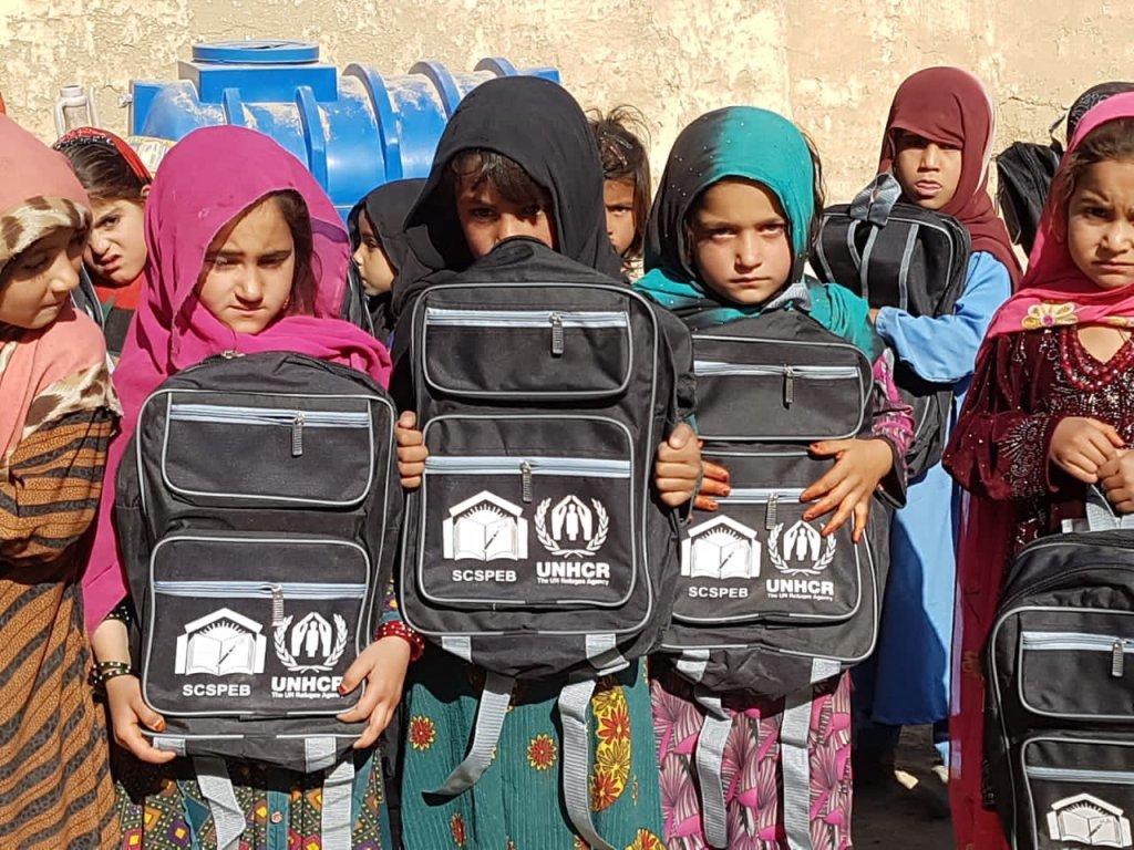 د پاکستان بلوچستان ایالت کې افغان زده کوونکې. انځور: ظاهر پشتون
