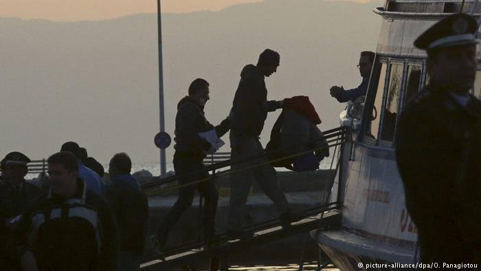 Migrant repatriations from Greece