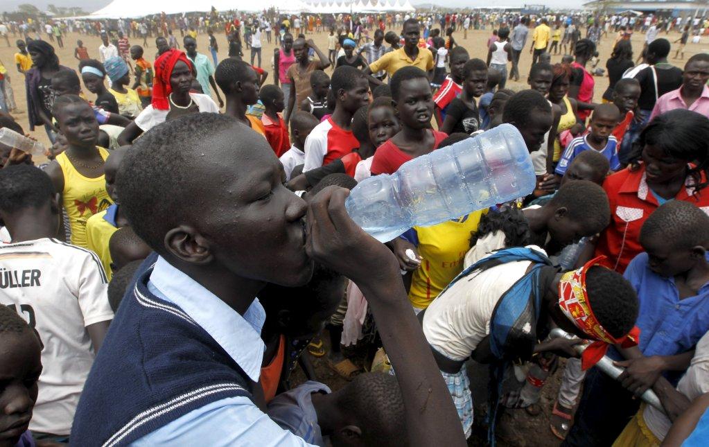 REUTERS |Un réfugié sud-soudanais dans le camp de Kakuma en 2015.