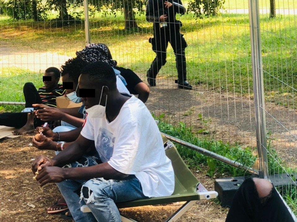 Among the migrants who have arrived in Lithuania in the last few weeks are some young African students | Photo: Private