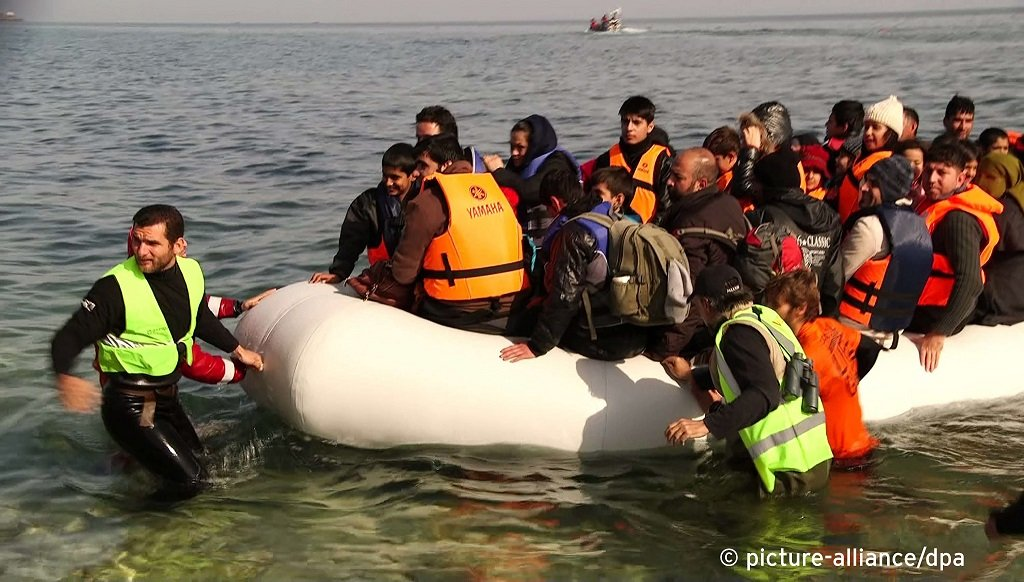 عکس از آرشیف/ صدها پناهجو در دو روز گذشته وارد جزایر یونان شده اند.