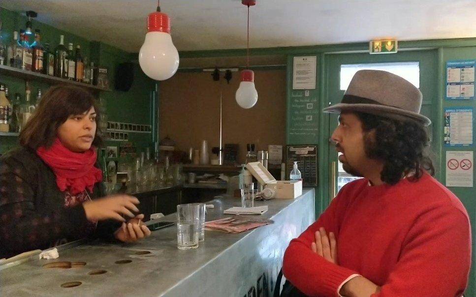 سارا فرید و طاها صدیقی در سال ۲۰۱۸ در اثر فشارها مجبور شدند به فرانسه مهاجرت کنند. عکس از مهاجر نیوز