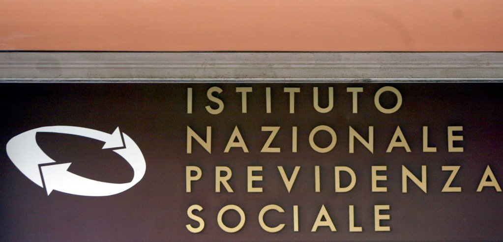 The INPS logo | Photo:  Filippo Monteforte/ANSA/PAL