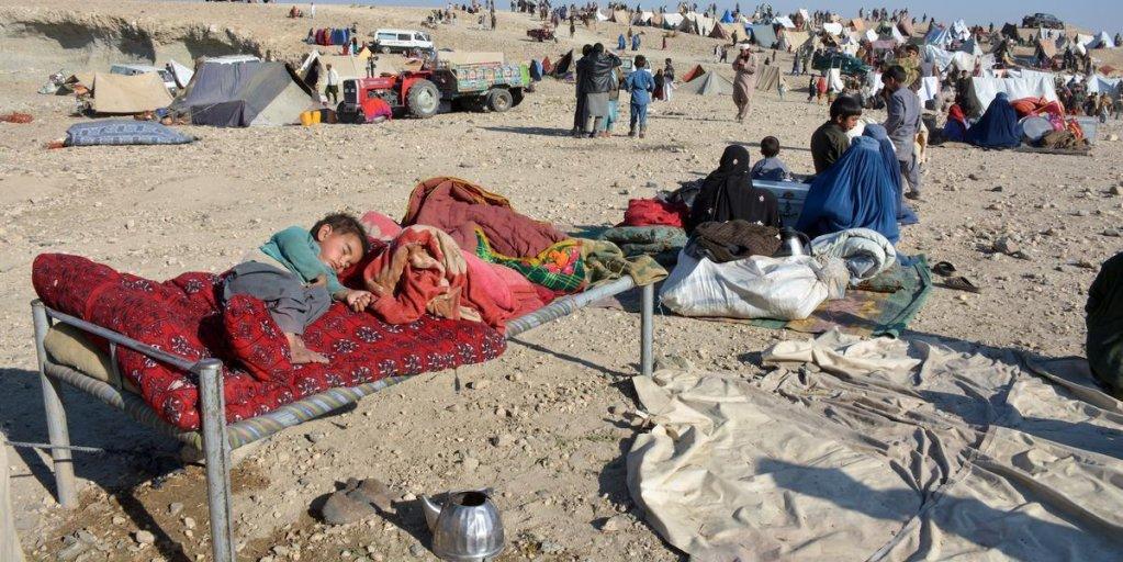 ansa / مجموعة من المشردين في خوجياني بأفغانستان. المصدر: المجلس النرويجي للاجئين - عناية الله آزاد
