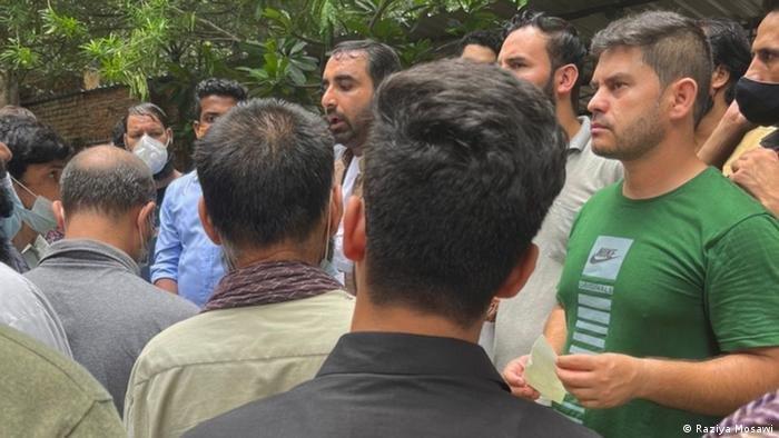 مهاجران افغان در هند. عکس: حق کاپی محفوظ است.