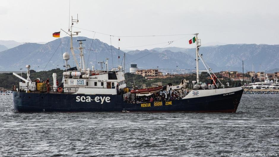 The Alan Kurdi, a Sea-Eye vessel | Photo: Gian Mario Sias/ANSA/Picture-alliance