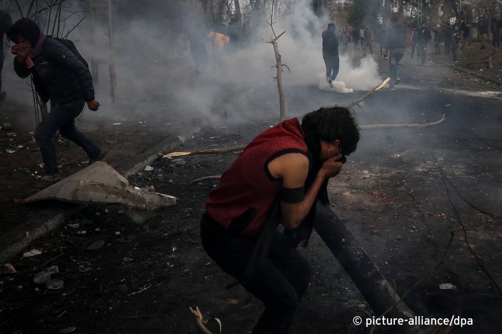 پناهجویان همواره تلاش می کنند که مرز میان ترکیه و یونان را عبور کنند.