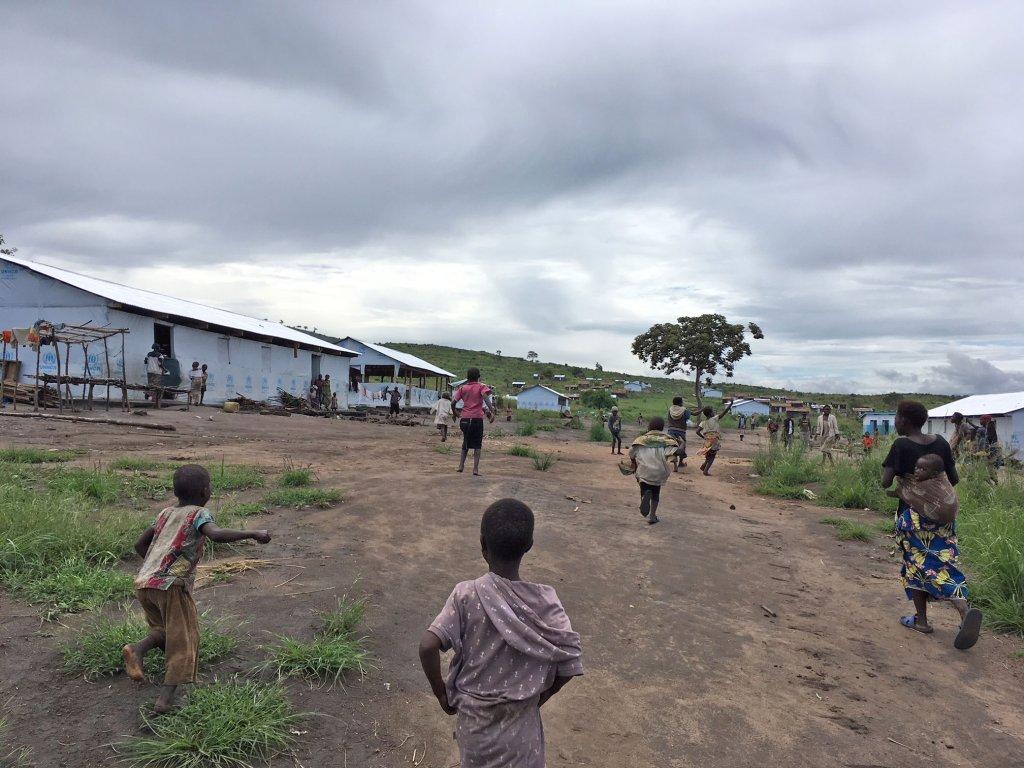 RFI / Florence Morice |La plupart des réfugiés de Mulongwe ont patienté des mois dans un centre de transit.