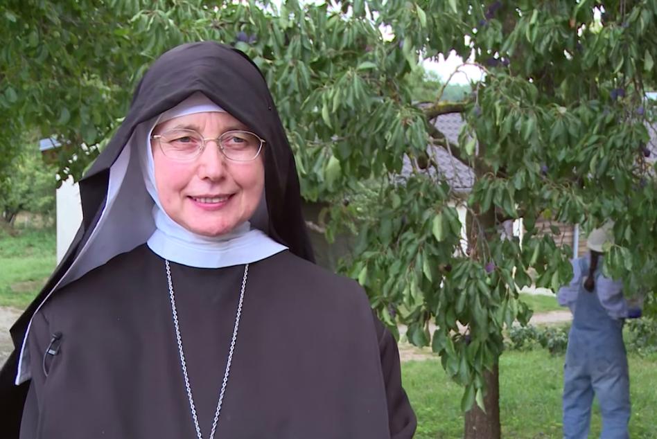 Mère Mechthild Thürmer de l'abbaye Frieden Abbey | Photo : Capture d'écran d'une vidéo Youtube de l'archidiocèse de Bamberg