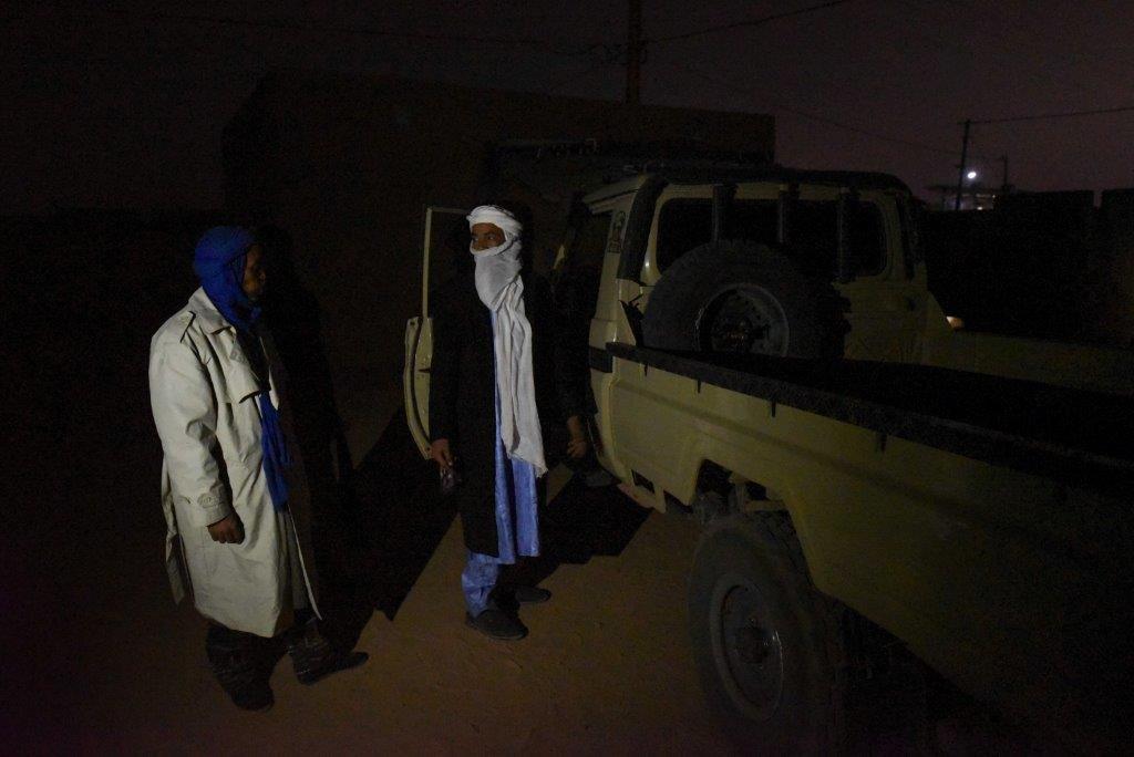 Des ex-passeurs à Agadez en 2018. Crédit : Mehdi Chebil