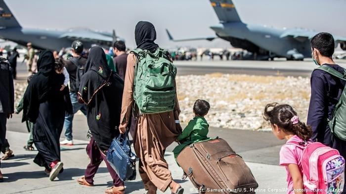 ایالات متحده و برخی کشورهای دیگر تلاش کردند، شهروندان افغان را تا تاریخ ۳۱ اگست از کشور خارج کنند./عکس: picture alliance