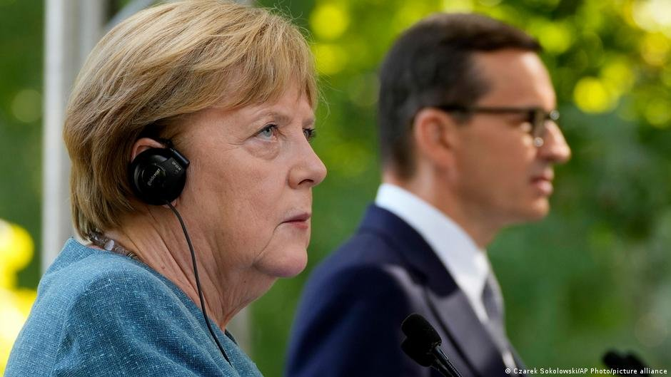 Merkel has met with Polish PM Morawiecki but will not be meeting with President Andrzej Duda | Photo: Picture-alliance