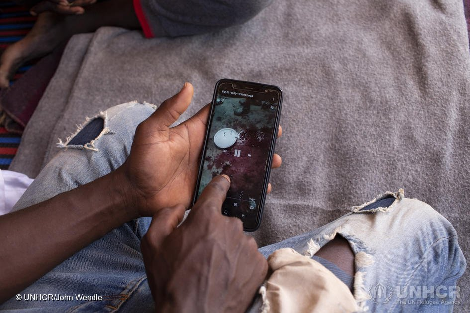 Un demandeur d'asile soudanais, détenu illégalement en Libye, est aujourd'hui en sécurité au Niger. Crédit : HCR