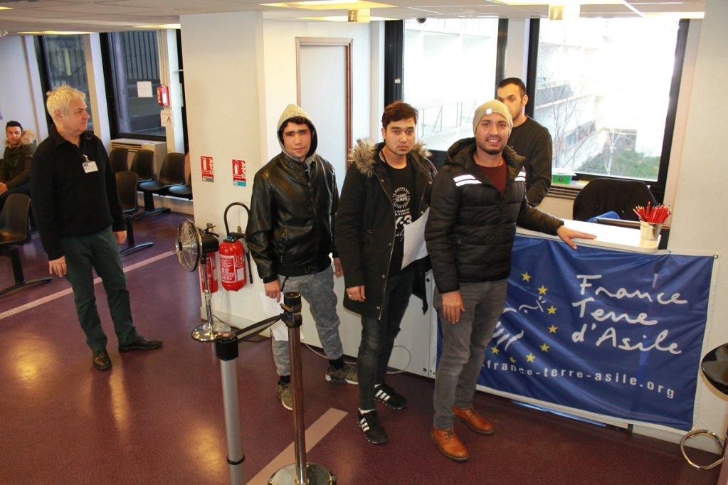 Christophe Carmarans/RFI |La procédure a été simplifiée depuis que France terre d'asile dispose de locaux au sein même de la préfecture de police du 18e arrondissement.