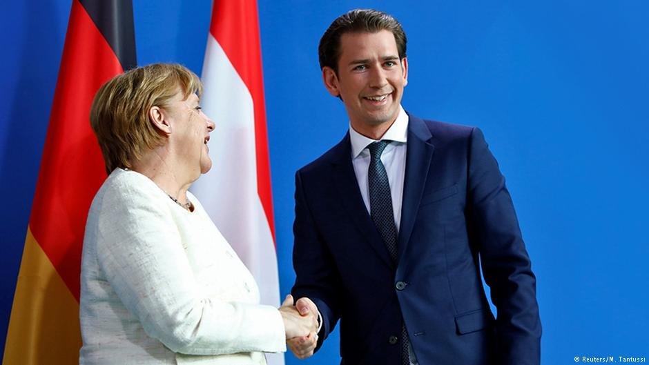 عکس از دویچه وله/ زباستین کورتس، صدر اعظم اتریش خواستار تقویت کنترول سرحدات خارجی اتحادیه اروپا گردید.