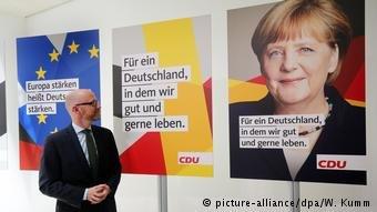 Affiches électorales de la CDU