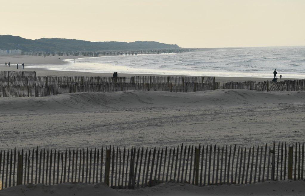 صورة أرشيفية لأحد شواطئ كاليه الفرنسية. المصدر: مهاجر نيوز/مهدي شبيل
