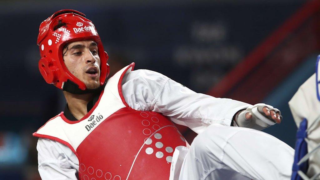 عبدالله صدیقی. عکس از کمیته المپیک پناهندگان
