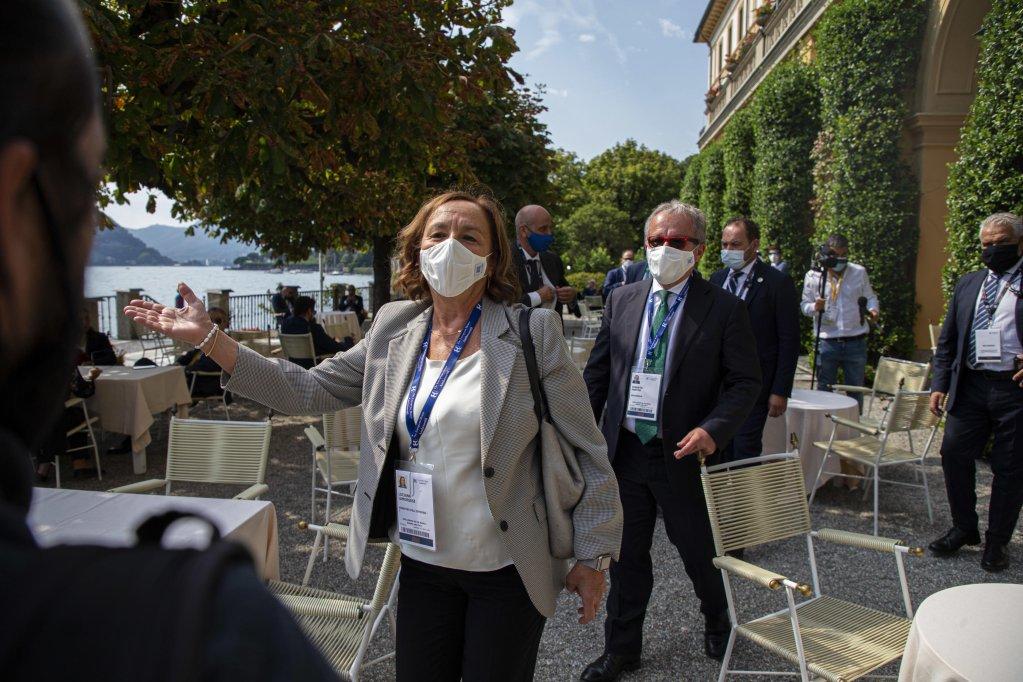 Interior Minister Luciana Lamorgese at the Ambrosetti Forum in Cernobbio, 6 September 2020 | Photo: ANSA/Marco Ottico