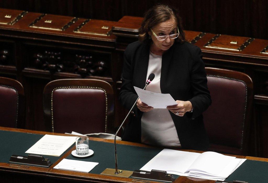 وزيرة الداخلية الإيطالية، لوسيانا لامورغيزي. المصدر: أنسا /ريكاردو أنتيمياني