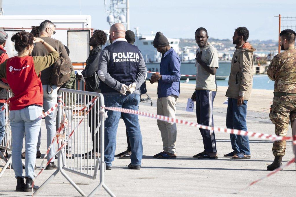 Archive photo: Migrants land in Pozzallo, Sicily | Photo: ANSA/ F. Ruta