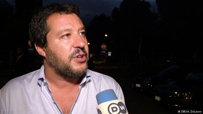 Matteo Salvini, Interioir Minister of Italy