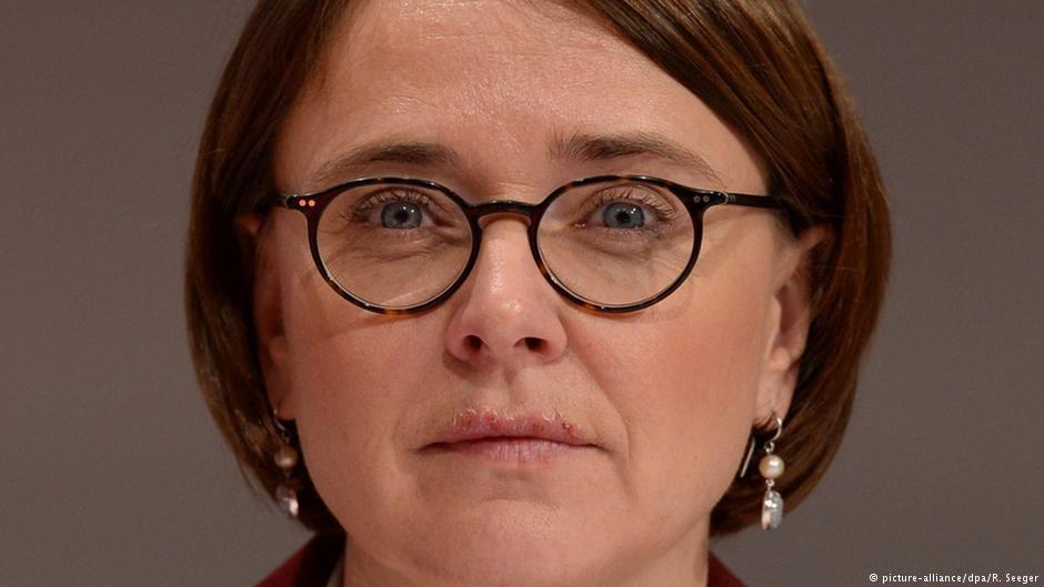 انیته ویدمن ماوتس، مامور حکومت آلمان در امور ادغام.